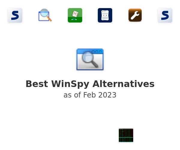 Best WinSpy Alternatives