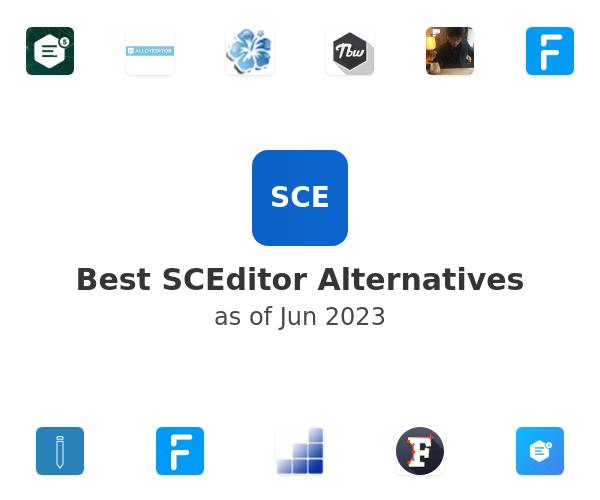 Best SCEditor Alternatives
