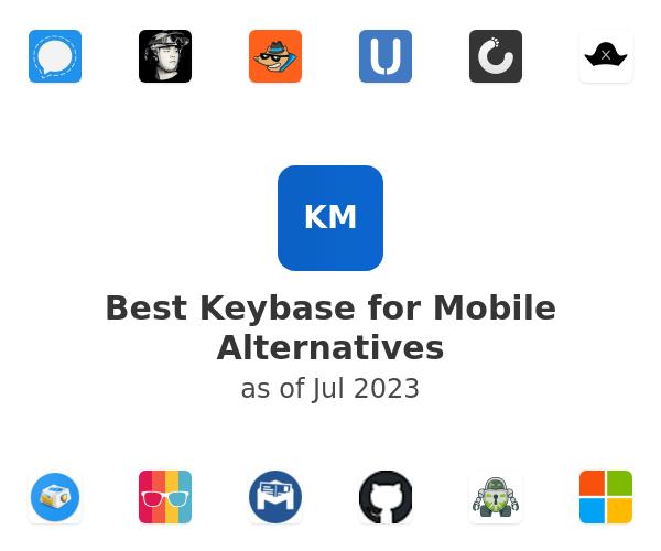 Best Keybase for Mobile Alternatives