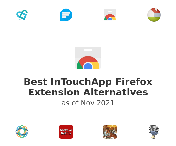 Best InTouchApp Firefox Extension Alternatives