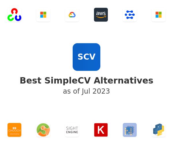 Best SimpleCV Alternatives