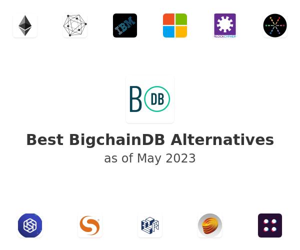 Best BigchainDB Alternatives