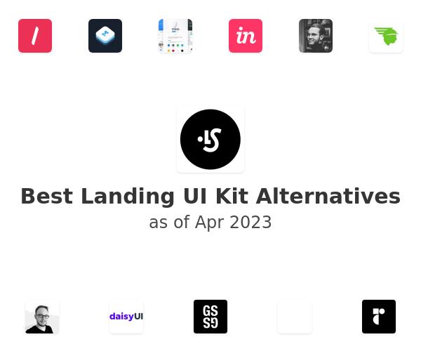 Best Landing UI Kit Alternatives