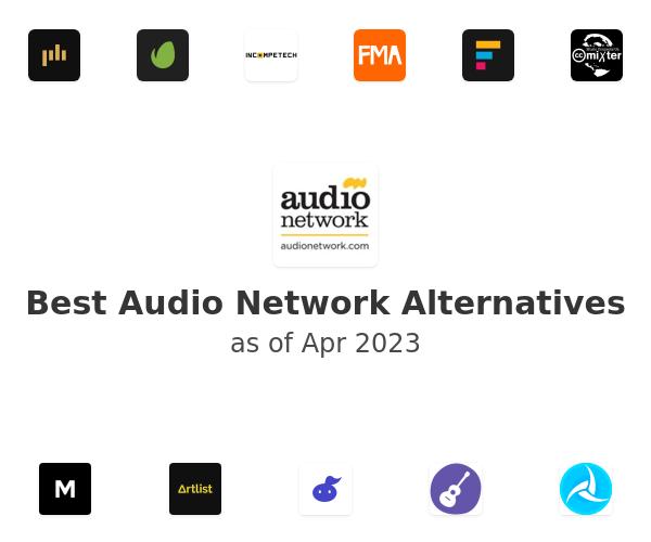 Best Audio Network Alternatives