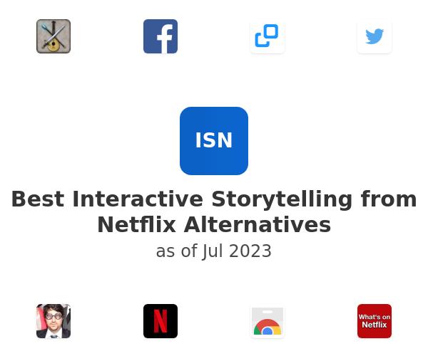 Best Interactive Storytelling from Netflix Alternatives