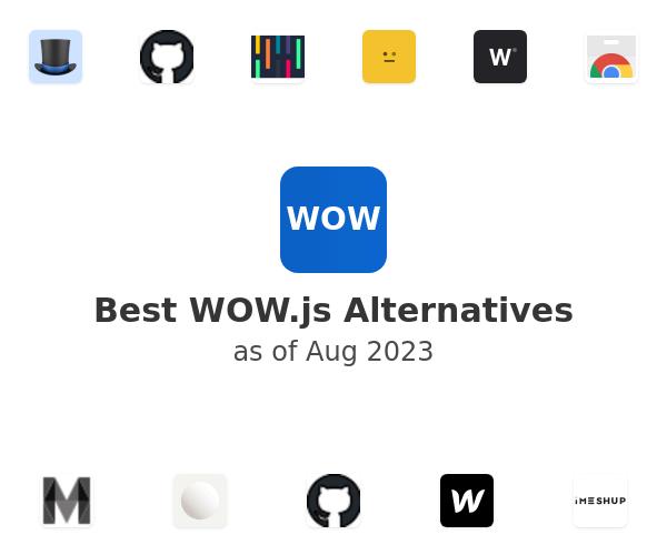 Best WOW.js Alternatives