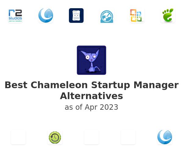 Best Chameleon Startup Manager Alternatives