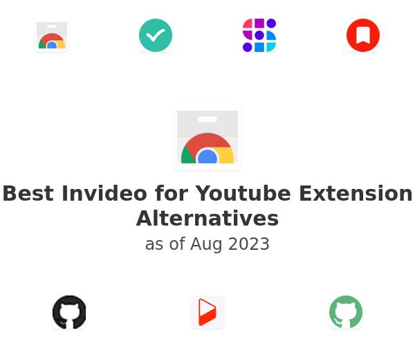 Best Invideo for Youtube Alternatives