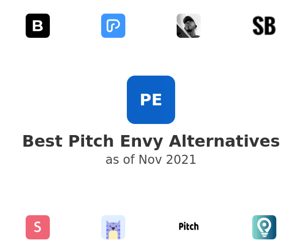 Best Pitch Envy Alternatives