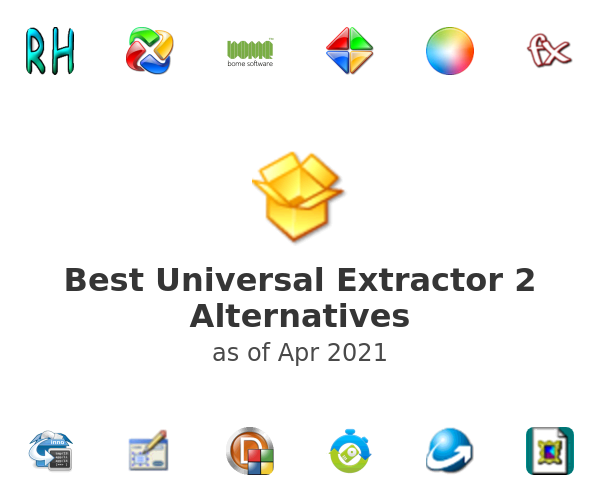 Best Universal Extractor 2 Alternatives