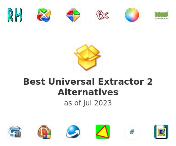 Best Universal Extractor 2 Alternatives
