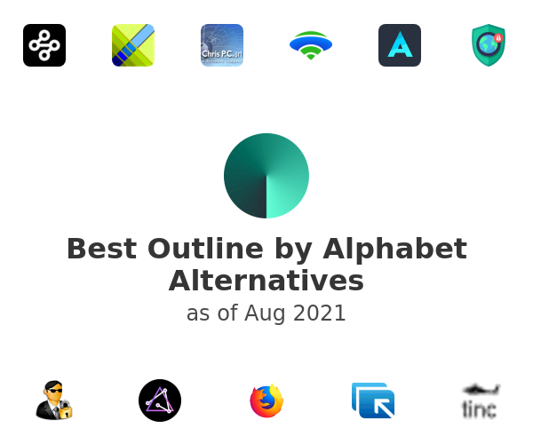 Best Outline by Alphabet Alternatives