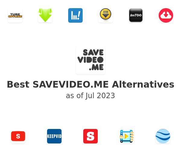 Best SAVEVIDEO.ME Alternatives