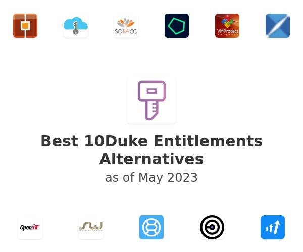 Best 10Duke Entitlement Management Solution Alternatives