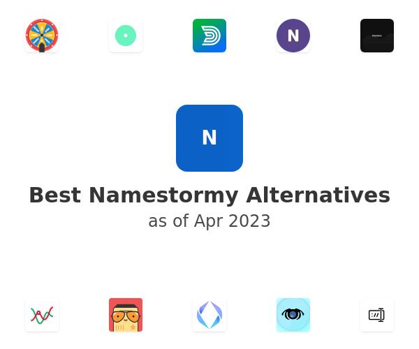 Best Namestormy Alternatives