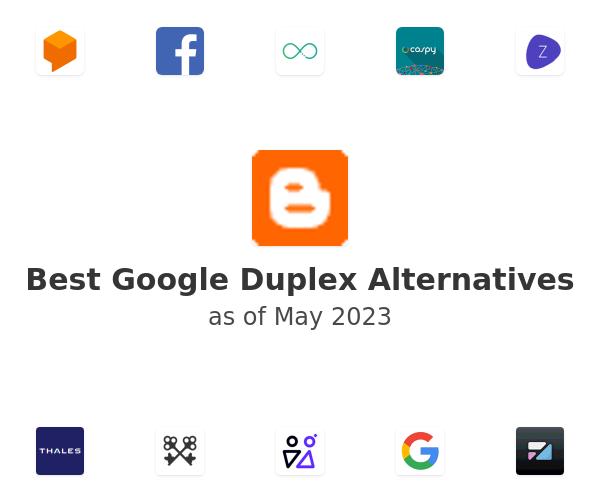 Best Google Duplex Alternatives