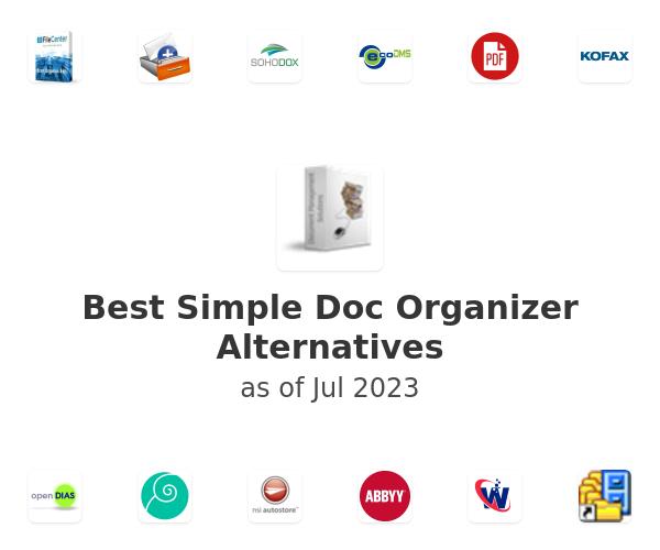 Best Simple Doc Organizer Alternatives