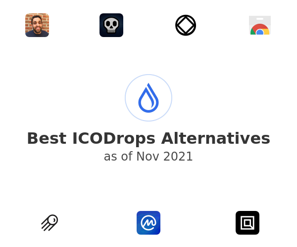 Best ICODrops Alternatives