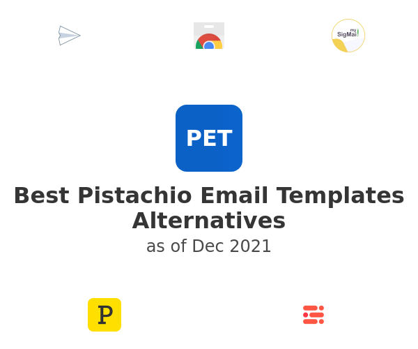 Best Pistachio Email Templates Alternatives