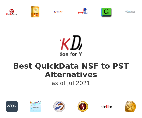 Best QuickData NSF to PST Alternatives