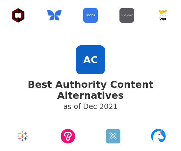 Best Authority Content Alternatives