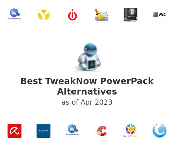 Best TweakNow PowerPack Alternatives