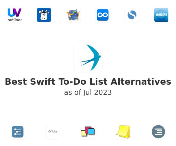 Best Swift To-Do List Alternatives