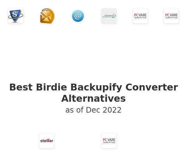 Best Birdie Backupify Converter Alternatives