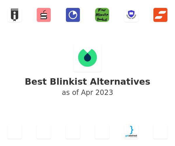 Best Blinkist Alternatives