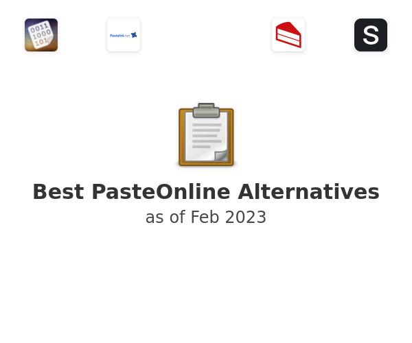 Best PasteOnline Alternatives