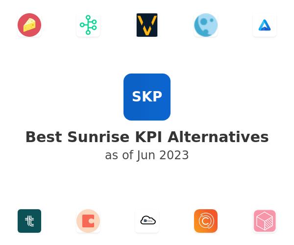 Best Sunrise KPI Alternatives