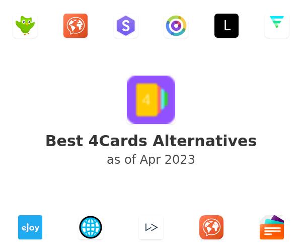 Best 4Cards Alternatives
