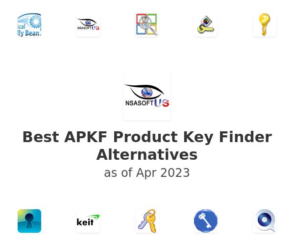 Best APKF Product Key Finder Alternatives