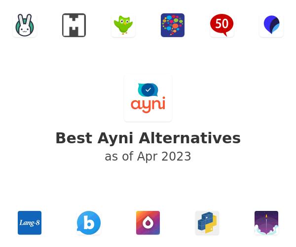Best Ayni Alternatives