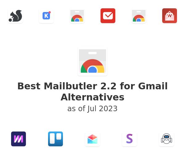 Best Mailbutler 2.2 for Gmail Alternatives