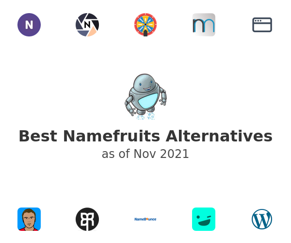 Best Namefruits Alternatives