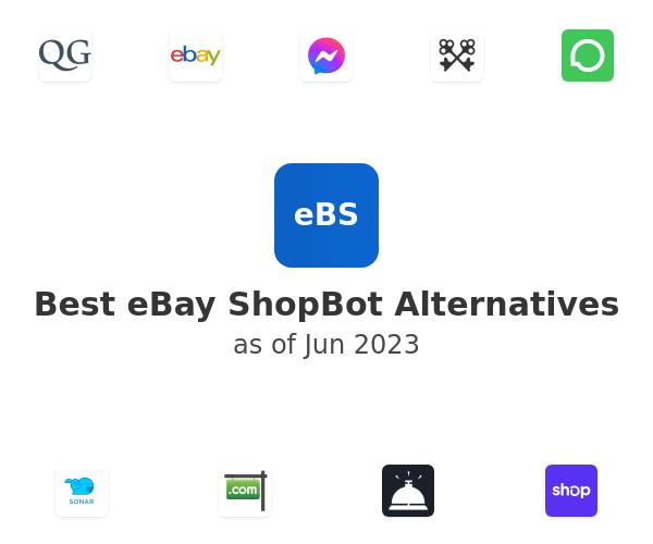Best eBay ShopBot Alternatives