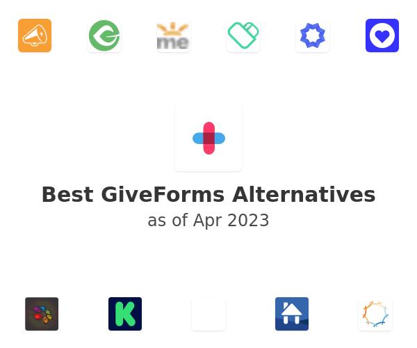 Best GiveForms Alternatives
