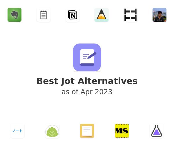 Best Jot Alternatives