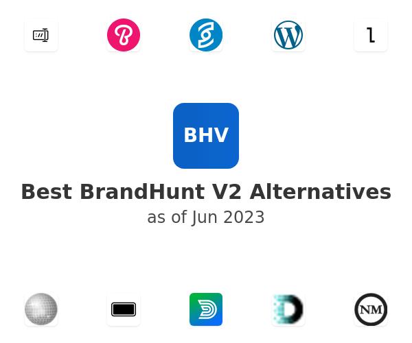 Best BrandHunt V2 Alternatives