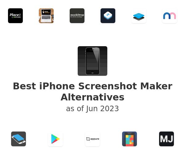 Best iPhone Screenshot Maker Alternatives