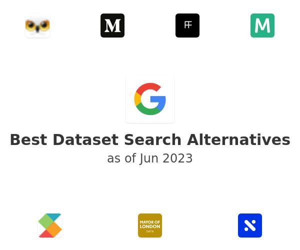 Best Dataset Search Alternatives