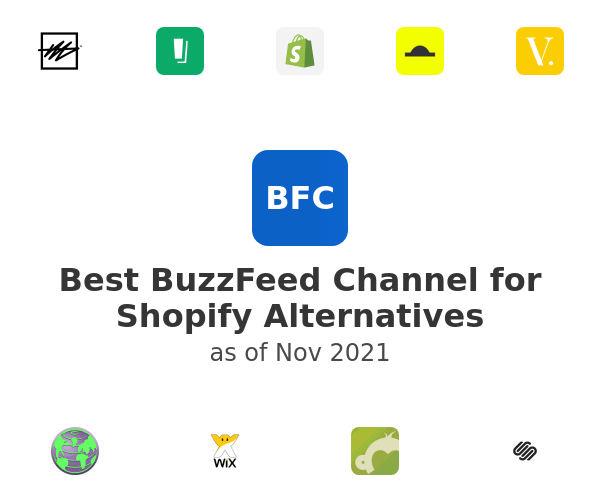 Best BuzzFeed Channel for Shopify Alternatives
