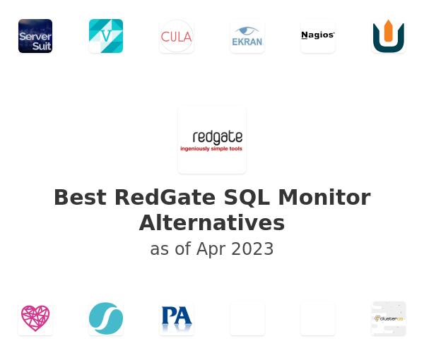 Best RedGate SQL Monitor Alternatives