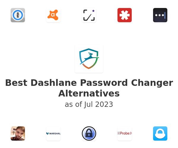 Best Dashlane Password Changer Alternatives