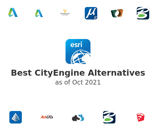 Best CityEngine Alternatives