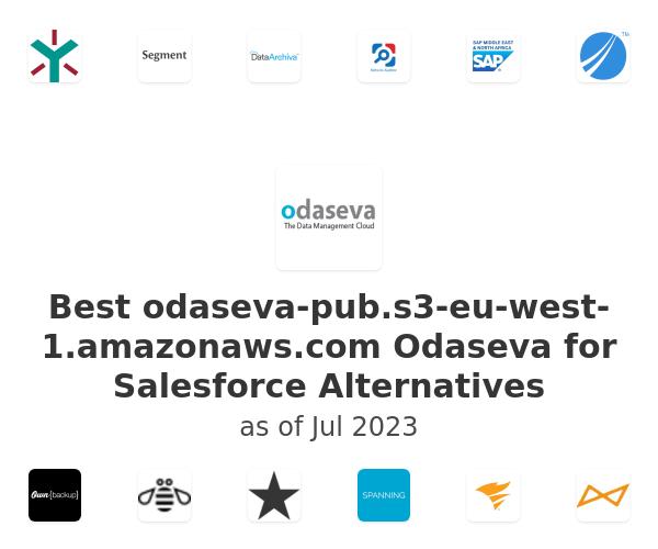 Best Odaseva for Salesforce Alternatives