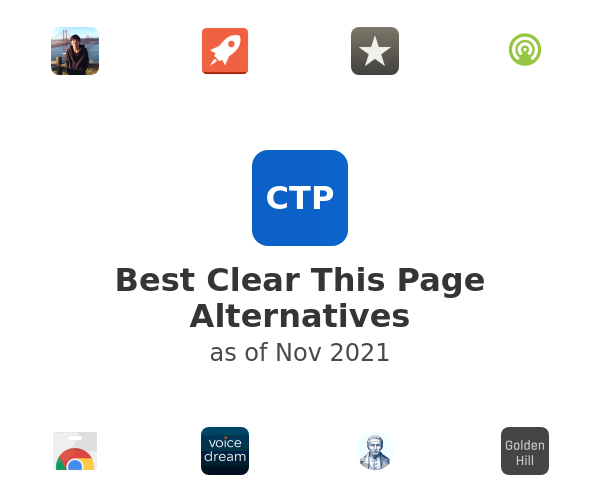 Best Clear This Page Alternatives