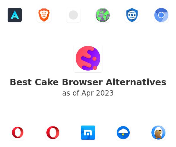 Best Cake Browser Alternatives