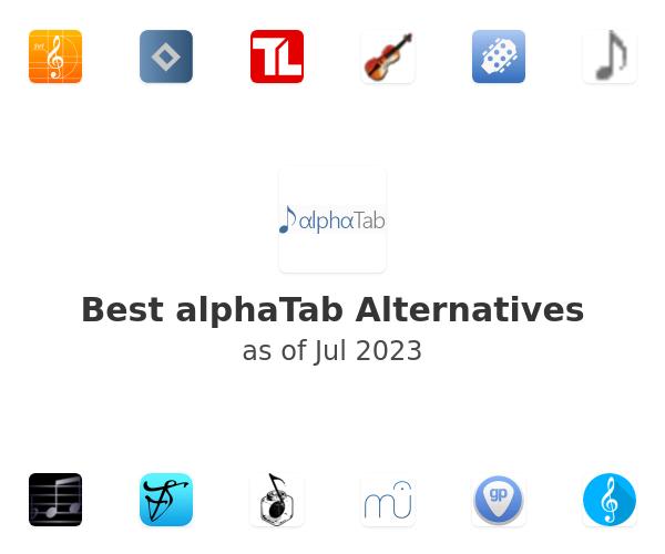 Best alphaTab Alternatives